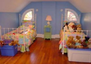 Kate's Attic Bedroom ~ Interiors by Monique