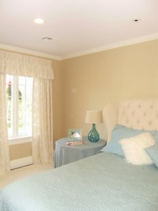 Livingston Guest Bedroom 2 - Interiors by Monique