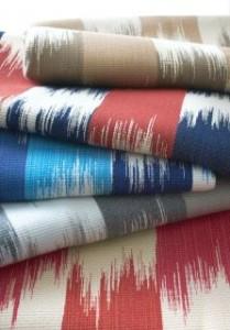 Ikat fabric by Kravet