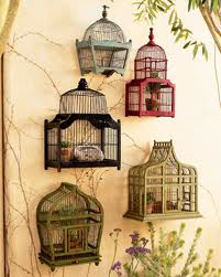 Interiors by Monique bird cages on
