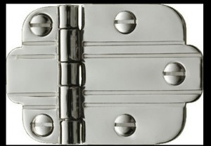 art deco hinge